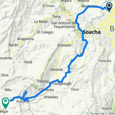 Bogota- Bateas - Melgar