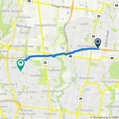 56 Latitude Boulevard, Thomastown to 2 Isla Avenue, Glenroy