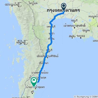 Wong Sawang Road 7 to ถนนปรมินทรมรรคา 255, Tambon Tha Taphao