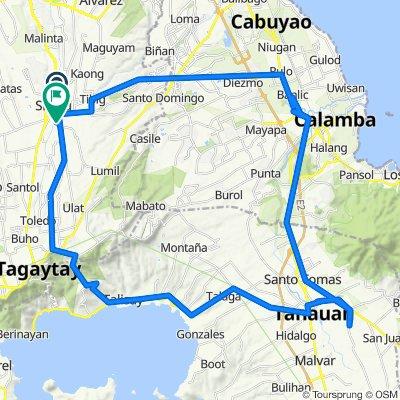 Sabutan - Iba Road 55, Silang to padre pio