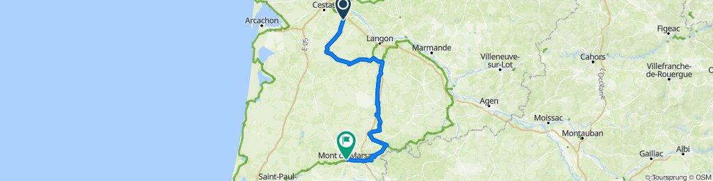 Villeneuve-de-Marsan - Mont-de-Marsan