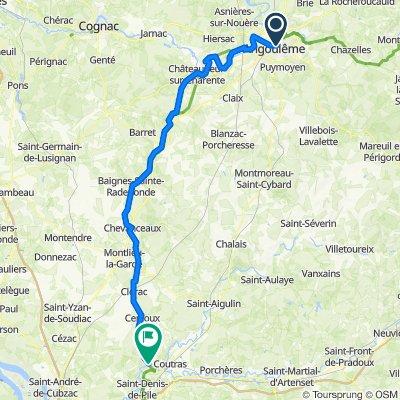 De la Charente au Bordelais
