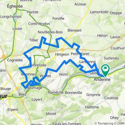 Marchovelette 60km 660D+