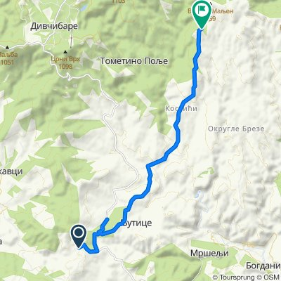 Unnamed Road to Unnamed Road, Tometino Polje