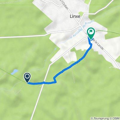 De Chemin de Binaou à Route d'Escalus, Linxe à 422 Route de la Lande, Linxe
