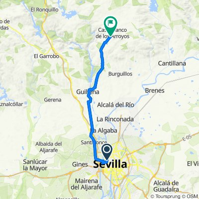 Vía de La Plata 01 (Sevilla - Castiblanco)
