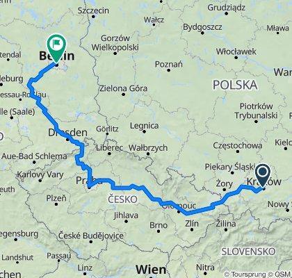 Kraków-Praha-Berlin