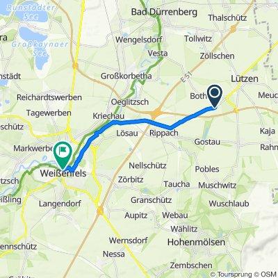 L188, Lützen nach Niemöllerplatz 39, Weißenfels