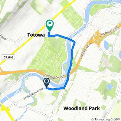 1024 McBride Ave, Woodland Park to 107 William Pl, Totowa