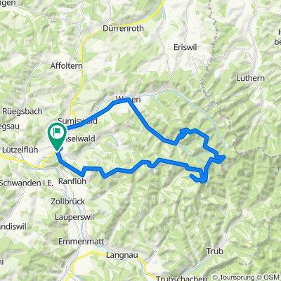 Mühle 1313A, Grünenmatt nach Mühlebachweg 15, Grünenmatt