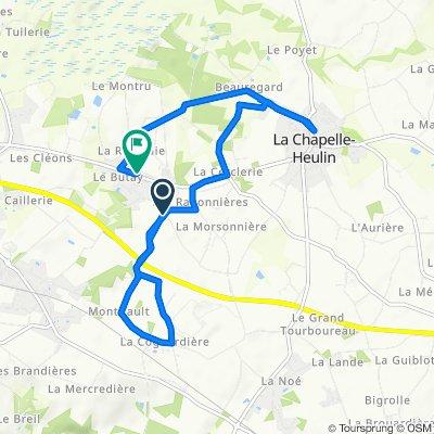 De 14 Rue des Châteaux, La Chapelle-Heulin à 22ter Route de Nantes, La Chapelle-Heulin