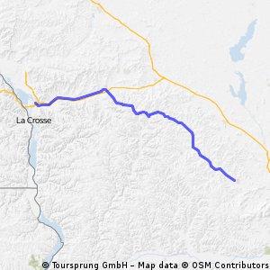 Onalaska to Reedsburg - bike trail