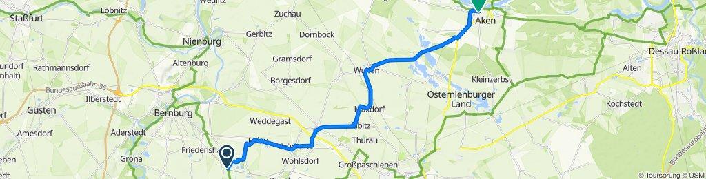 Zum Kantorplan 4, Bernburg (Saale) nach Burgstraße 32–36, Aken