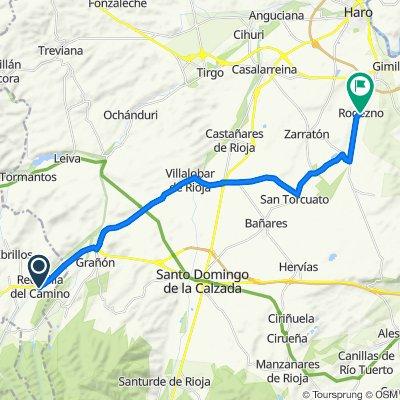De Calle de los Corrales, 2–16, Redecilla del Camino a Plaza del Santo Tomás, 4, Rodezno
