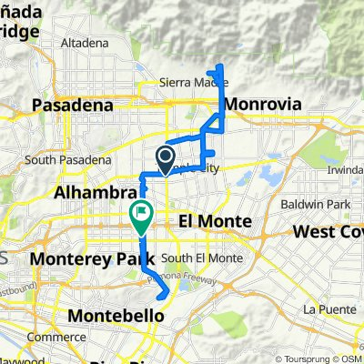 Rosemead / Las Tunas, Temple City to Whitmore Street 8132, Rosemead