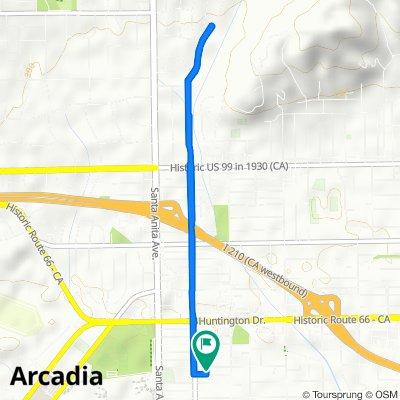 122 California St, Arcadia to 126 California St, Arcadia