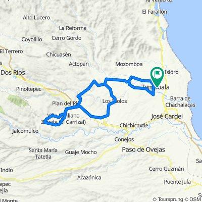 Cempoala-Rinconada-Tigrillos-Carrizal-Pasolamilpa-StaRosa-Hornitos-Cempoala