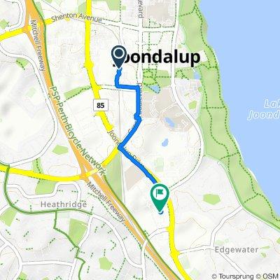 420 Joondalup Drive, Joondalup to 9 Sundew Rise, Joondalup