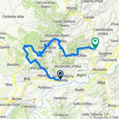 Da Via Castello 16, Santa Vittoria d'Alba a Frazione Montebello 24, Guarene