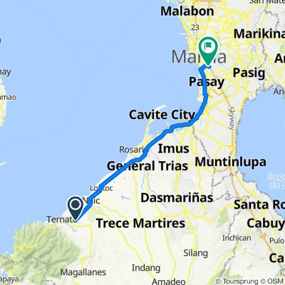 Governor's Drive, Maragondon to Road 15 2180, Manila
