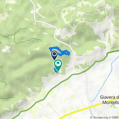Da Via Carretta 40, Giavera del Montello a Via Carretta 36, Giavera del Montello