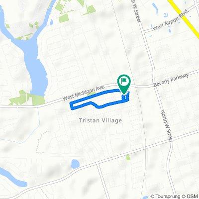 Burlington Avenue 5107, Pensacola to Fremont Avenue 800, Pensacola