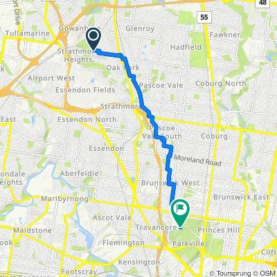 41 Pengana Avenue, Glenroy to 35 Poplar Road, Parkville