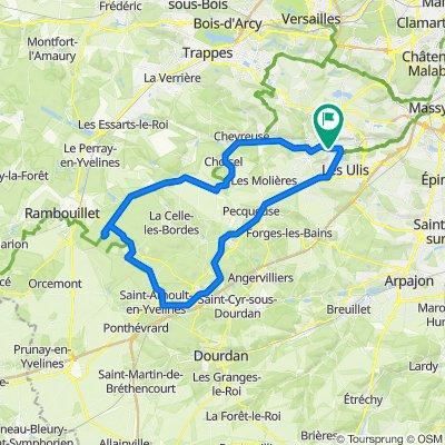 De 83 Avenue des Tilleuls, Bures-sur-Yvette à 127 Rue Charles de Gaulle, Bures-sur-Yvette