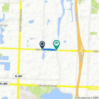 3191–3199 Florida Mango Rd, Palm Springs to 2201 Tenth Ave N, Lake Worth