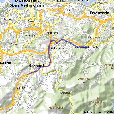 Sector 2 ciclismo - tramo 2 (Circuito de 3 vueltas)