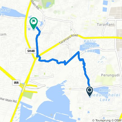 Green Acres Rd, Chennai to 1/33, Chennai