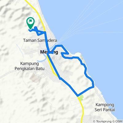 Jalan Parit Tadahan 1217, Mersing to Jalan Parit Tadahan 1217, Mersing