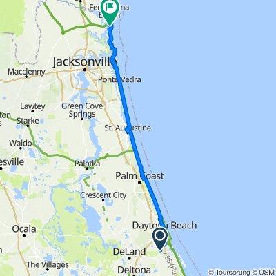 2009 Beaver Creek Dr, Samsula to 2944–2998 Fernandina Rd, Fernandina Beach