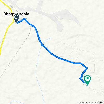 Unnamed Road, Bhagwangola to Unnamed Road, Kharibona