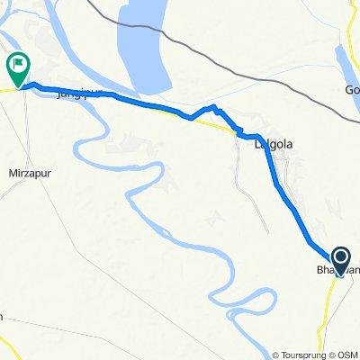Unnamed Road, Bhagwangola to Lalgola - Raghunathganj Road