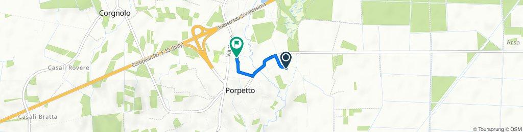 Via Bando 14, Porpetto nach Strada Provinciale 80 9, Porpetto
