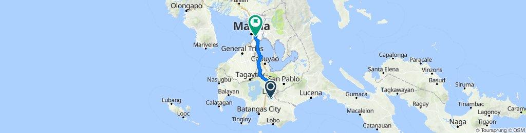 Route to Ayala Avenue, Makati