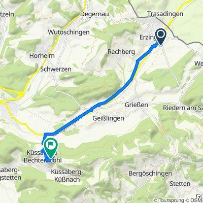 Züricher Straße 16, Klettgau nach Schloßbergstraße, Küssaberg