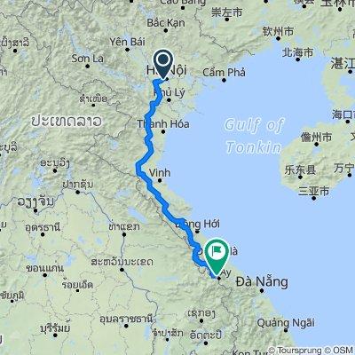 HANOI HO CHI MINH TRAIL DANANG