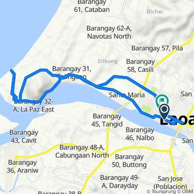 Tupaz 173, Laoag City to Gov. A. Agbayani 12, Laoag City