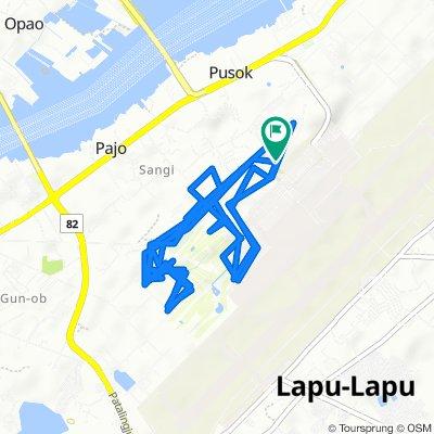 Terminal Building Access Road, Lapu-Lapu City to Terminal Building Access Road, Lapu-Lapu City