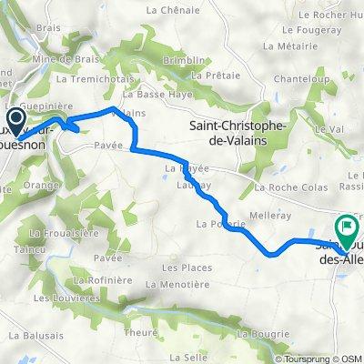 De 1 Rue du Mont-Saint-Michel, Vieux-Vy-sur-Couesnon à 23 Rue du Général de Gaulle, Saint-Ouen-des-Alleux