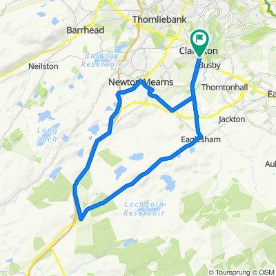 Maxwell's Tour de Eaglesham