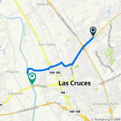 2500 Sunridge Dr, Las Cruces to Rio Grande, Las Cruces