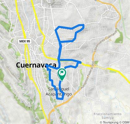 De Calle Altamirano 1, Cuernavaca a Calle Comonfort 8(202, Cuernavaca