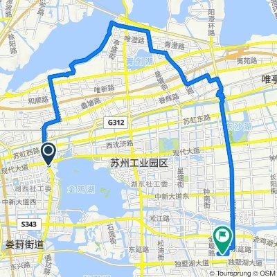 Easy ride in Suzhou