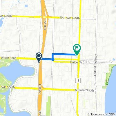 1703 Lake Worth Rd, Lake Worth to 127 N Dixie Hwy, Lake Worth
