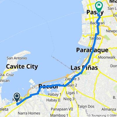 Kawit to Taft Avenue 2611, Pasay