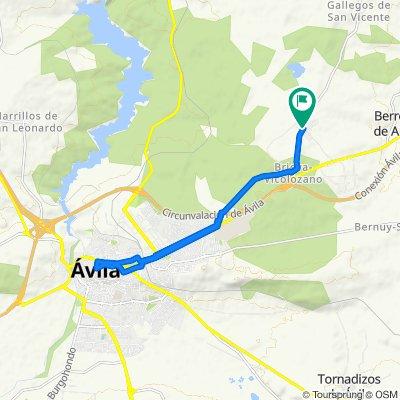 Little trip to Avila