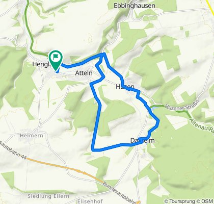 Familienradtour Lichtenau